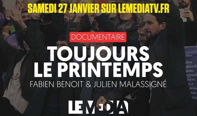 «Toujours le printemps» sur LeMedia