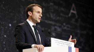 Emmanuel Macron etl'IA